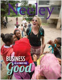 TCU Neeley magazine cover