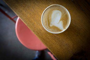 Latte from Revelator coffee