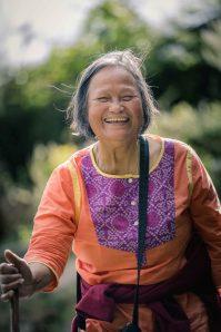 Hiking with Aunty to 9000' Malana village