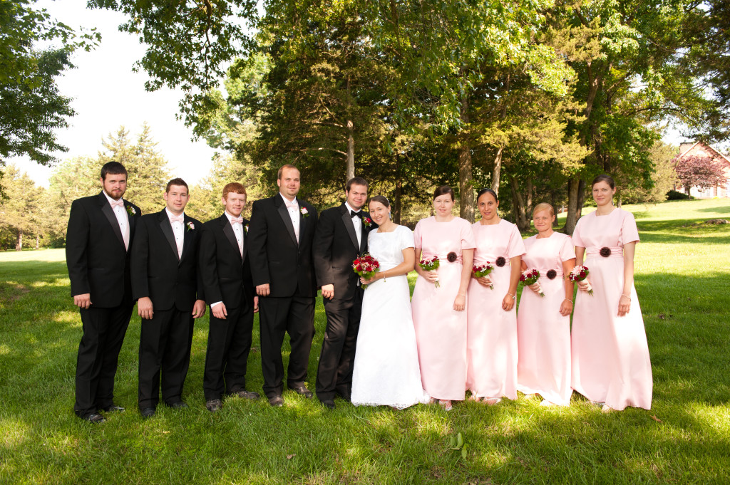 Our Wedding Day [part III bridal party]