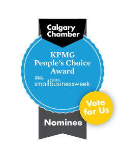 Calgary Chamber KPMG People's Choice Award Nominee - Vote For Us
