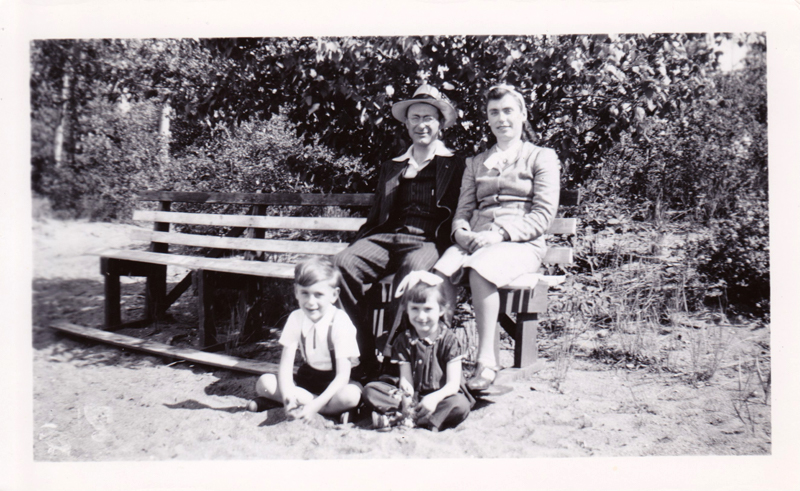 The late Varga family.  Frank, Anne, Henry & Ida
