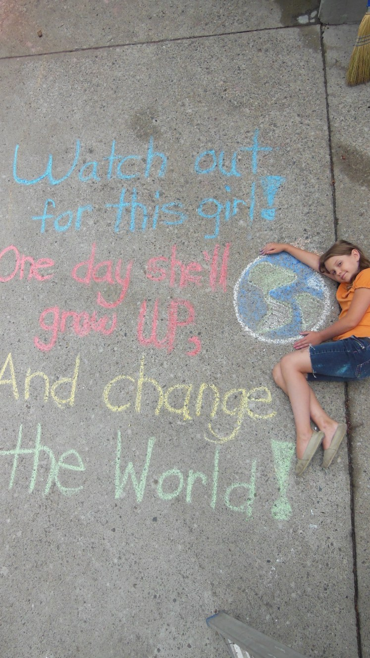 Madelyn change the world