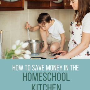 New Year's Resolutions: Saving Money in the Homeschool Kitchen