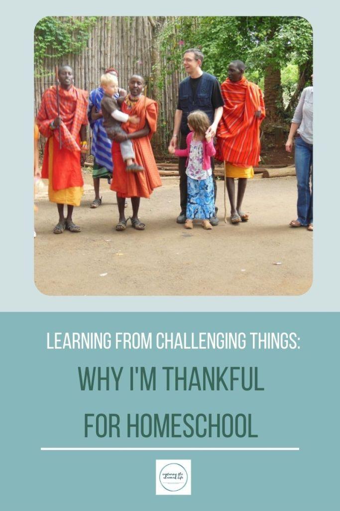 why i'm thankful for homeschool