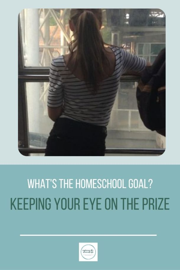keeping your eye on the homeschool prize