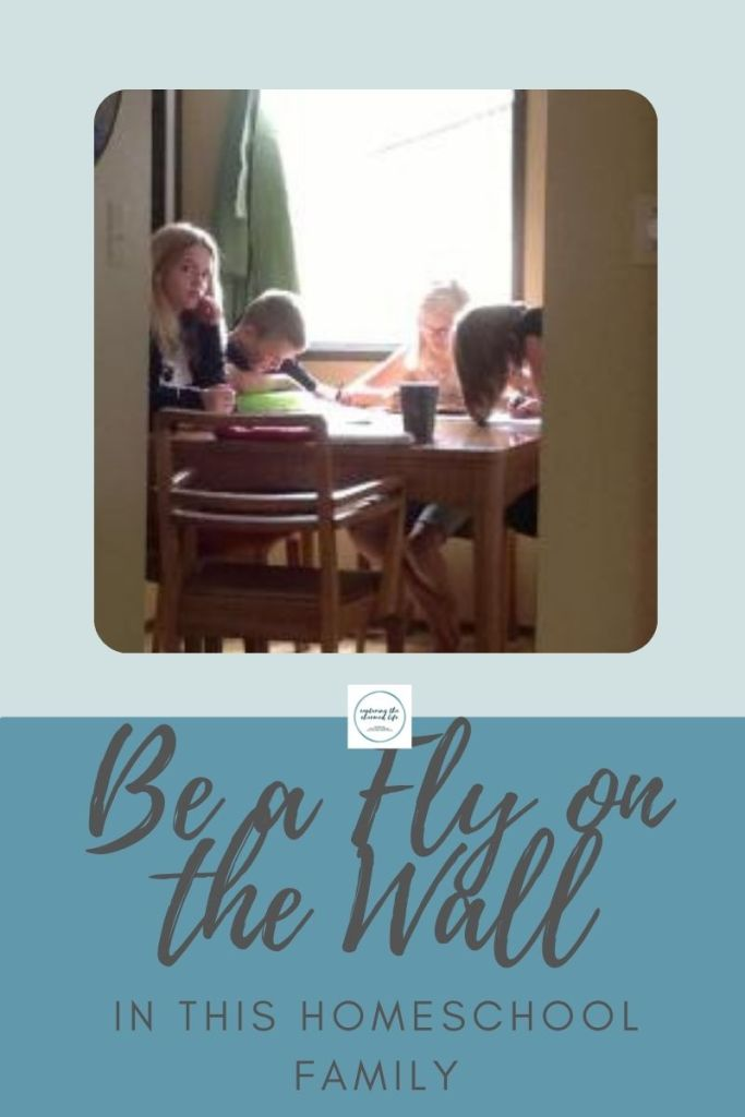 be a fly on the wall in this homeschool family