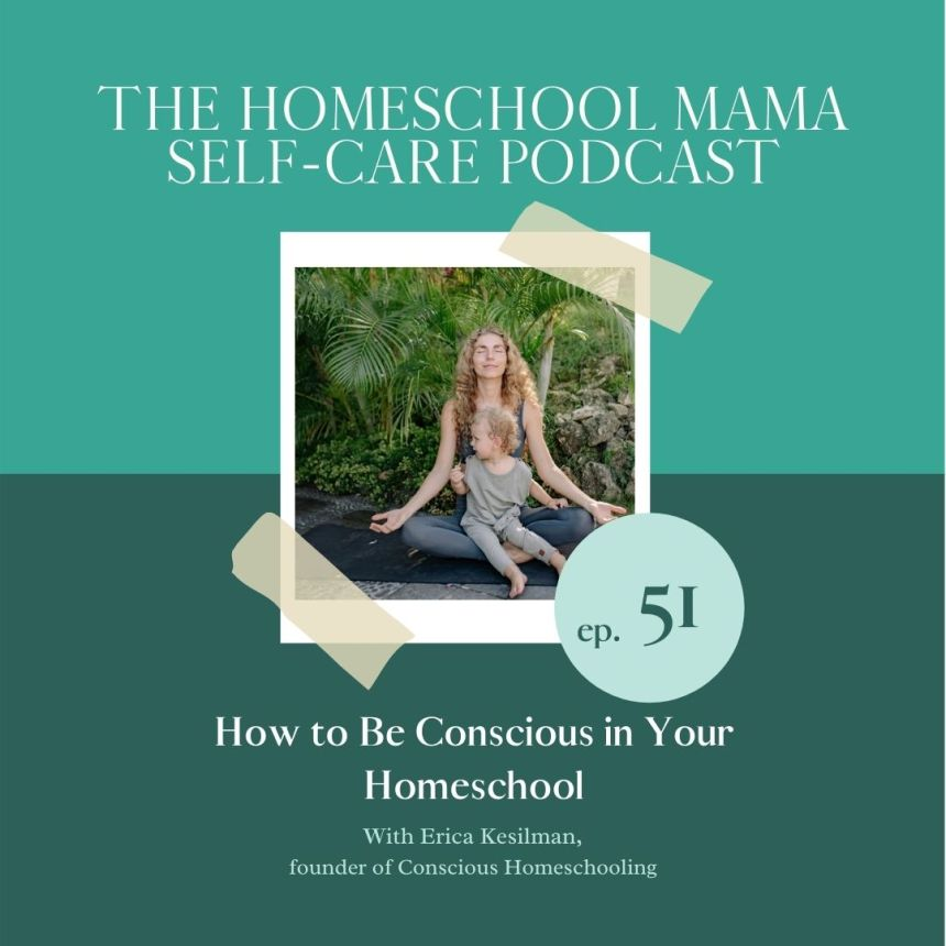 how to be conscious in your homeschool