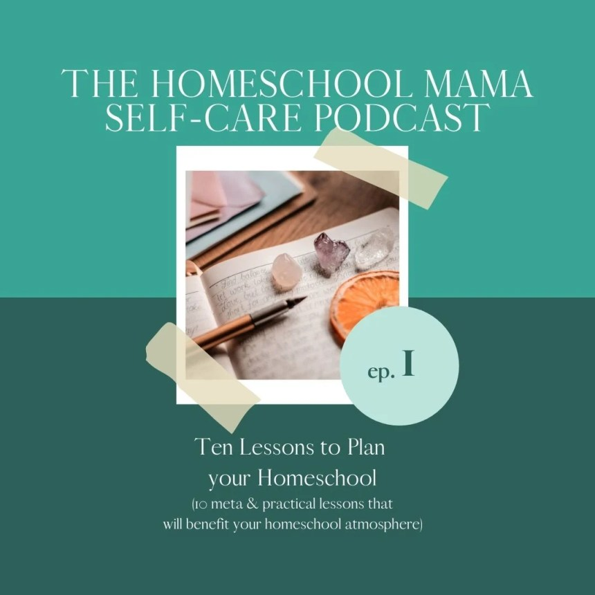 ten meta and practical tips to plan your upcoming homeschool