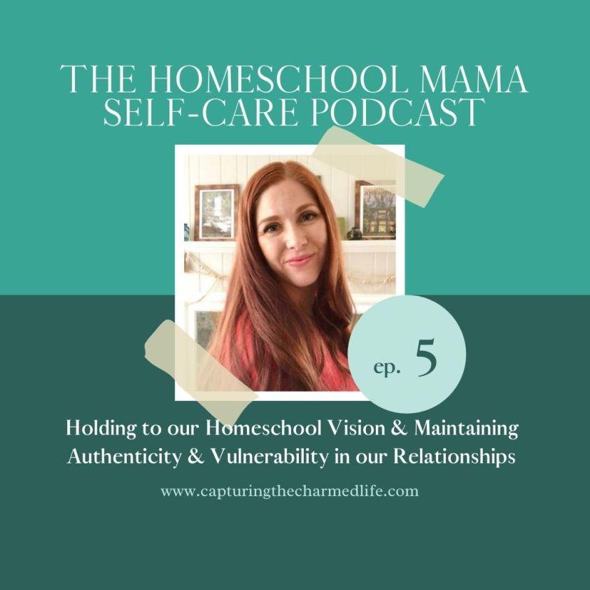 Betsy Jenkins  Homeschool Mama Self-Care podcast