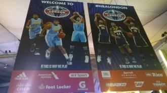 Manifesti NBA London