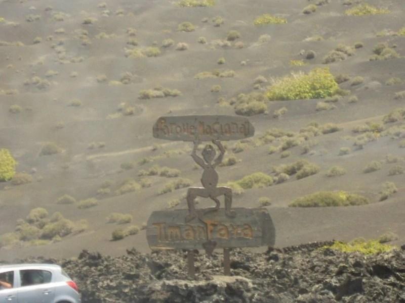 El Diablo Parco del Timanafaya  Lanzarote