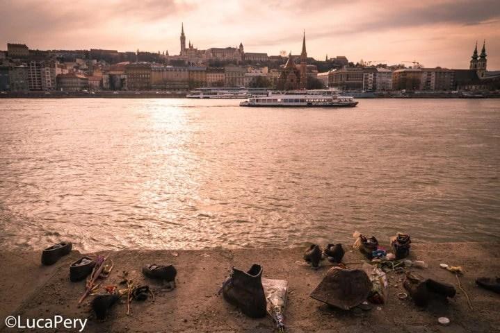 Monumento ebrei Budapest