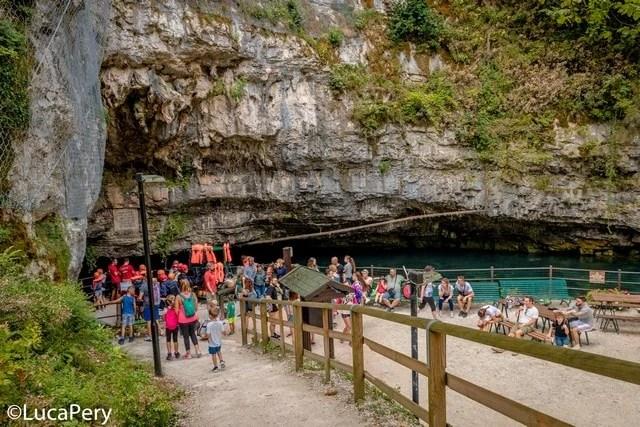 Grotte di oliero coi bambini
