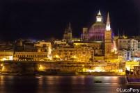 Valletta by night