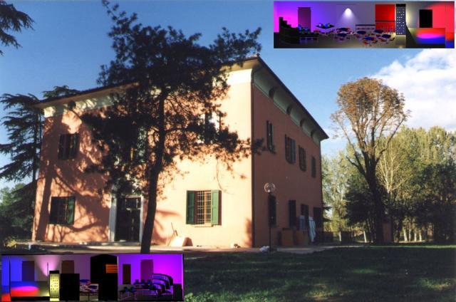 Villa Serena, la sede di Bologna del progetto / Villa Serena, the venue of the project in Bologna