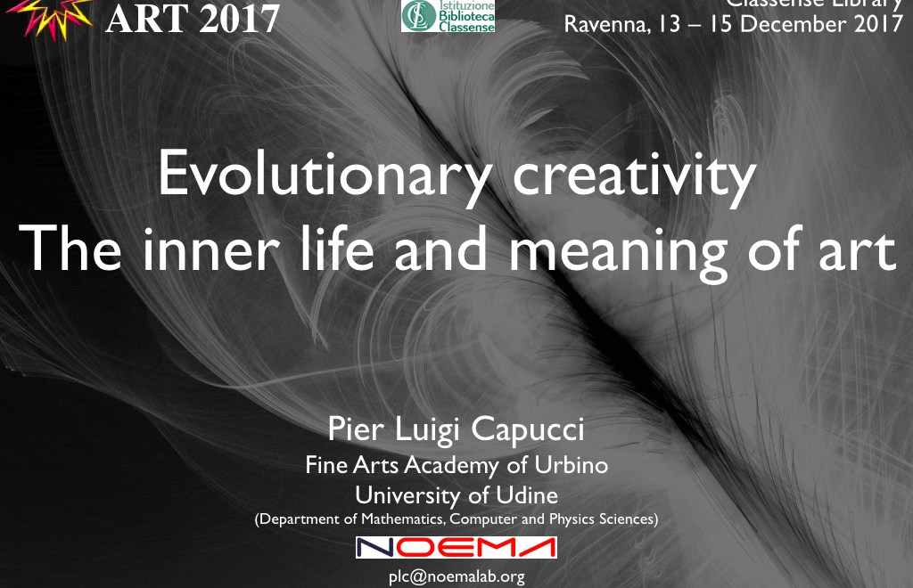 Evolutionary creativity. The inner life and meaning of art