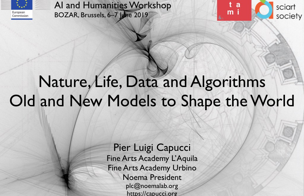Nature, Life, Data and Algorithms – Old and New Models to Shape the World