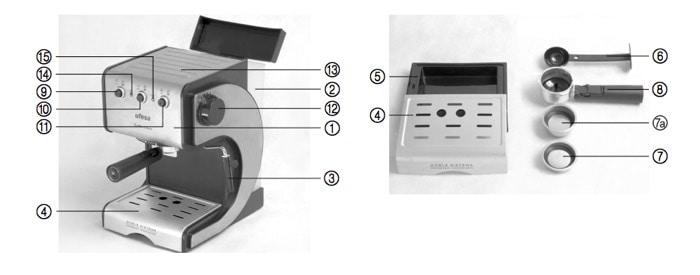 Ufesa CE7141 - Diseño