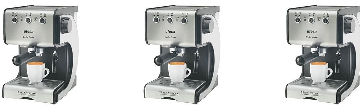 Cafetera Ufesa CE7141 – Cafetera espresso manual – Opinión y análisis
