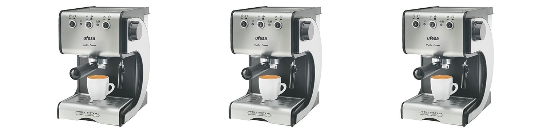 Ufesa CE7141 - Cafetera espresso manual - Opinión y análisis