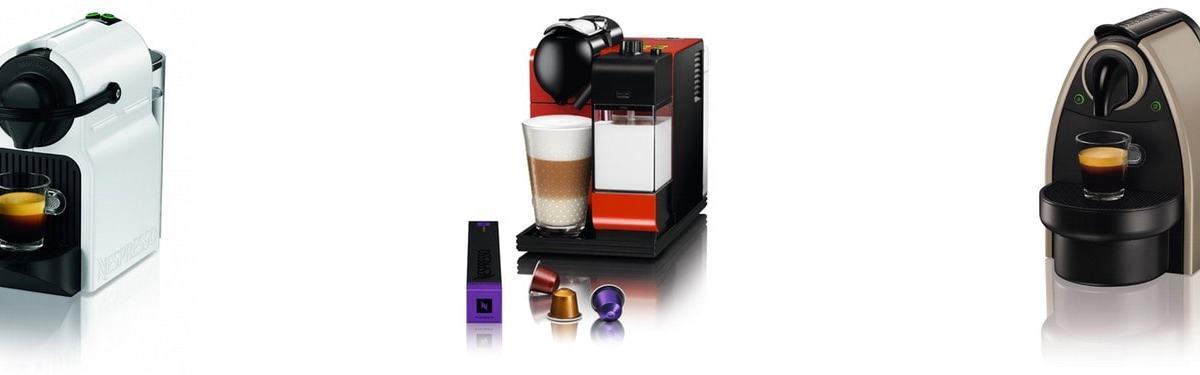 Las 3 mejores cafeteras de cápsulas Nespresso en 2015