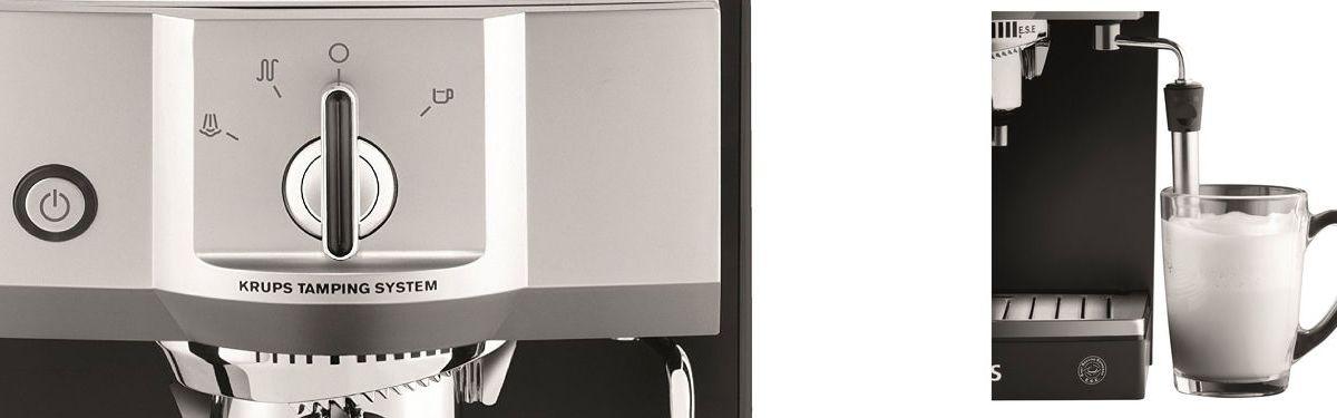 Krups Expert Pro Inox XP5620 – Cafetera espresso manual – Opinión