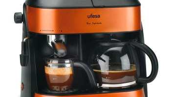 Ufesa CK7355 Duo Supreme - Cafetera espresso y por goteo - Opinión