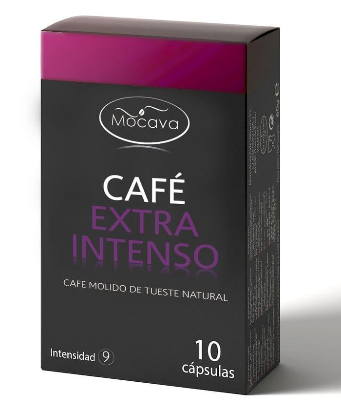 120 capsulas Nespresso de Mocava por 25 euros