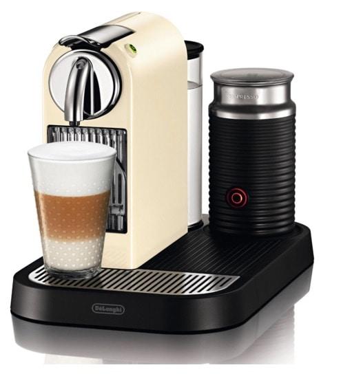 Cafetera Nespresso Citiz & Milk Cream EN 266.CWAE de DeLonghi