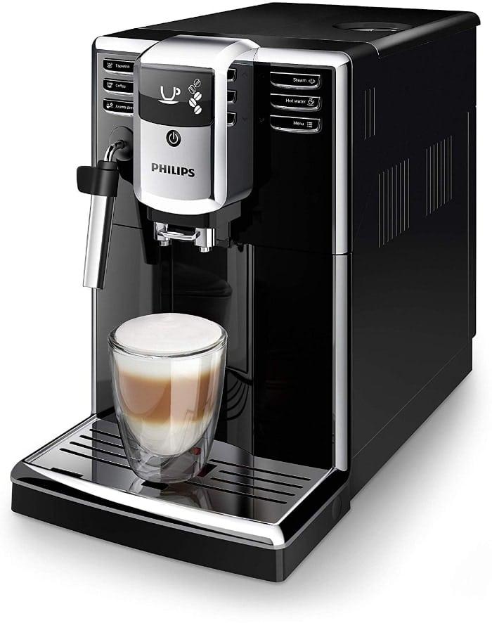 Cafetera Philips 5000 series - Cafetera superautomática (1,8 L, Molinillo integrado)