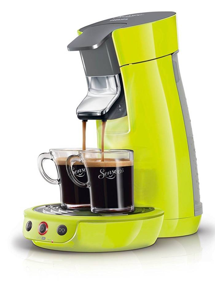Philips Senseo Viva Café en oferta - Cafetera monodosis, color verde lima