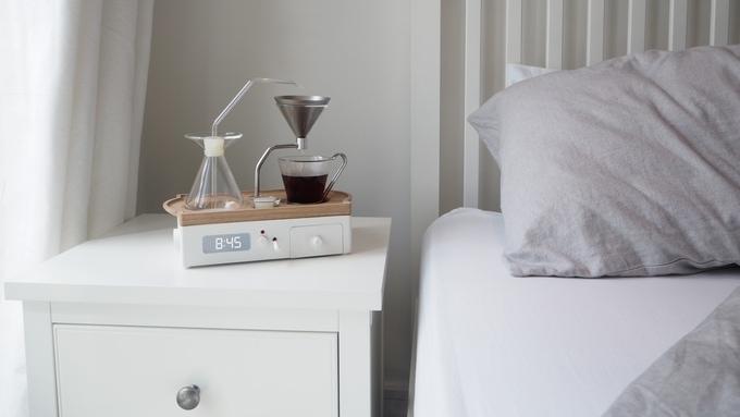 Barisieur, el despertador con cafetera que te levanta con aroma a café