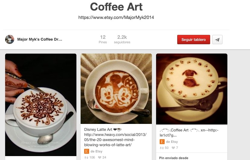 Latte Art Pinterest