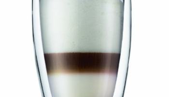Heat resistant double-layer Glass Latte Cup