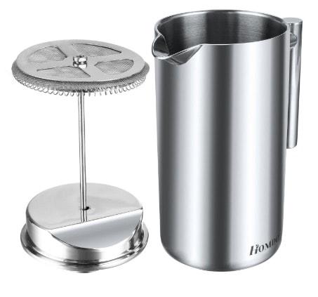 Homdox 0AI001520 – Cafetera de émbolo en oferta por menos de 25 euros