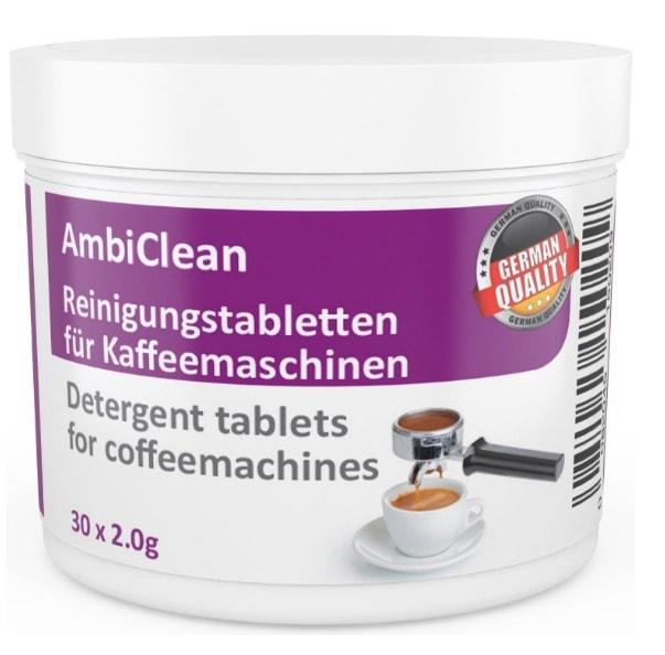 30 pastillas para limpieza cafeteras (2,0 gramos cada una)