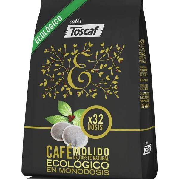 Café orgánico y ecológico recomendado en 2018: Toscaf Café Ecológico Molido Natural