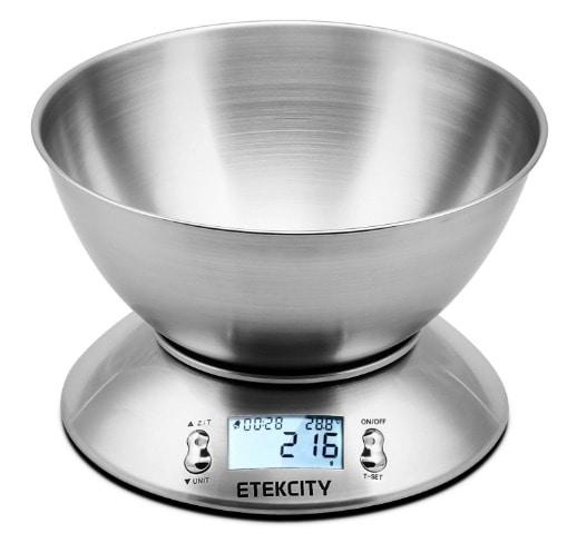 Etekcity – Báscula Digital para Cocina en oferta