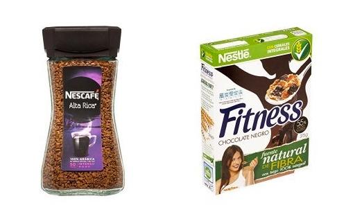 Nescafé Alta Rica Café Soluble Intenso (100 g) + Nestlé - Cereales Fitness Chocolate Negro (375 g)