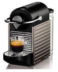 Nespresso Pixie Titan XN3005 Krups - Cafetera monodosis