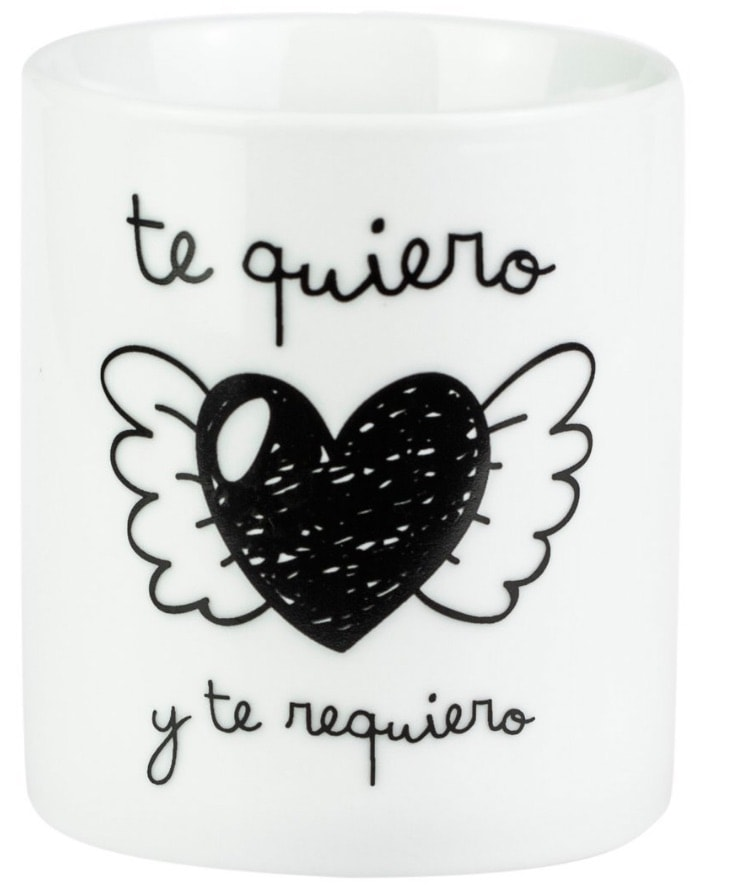 "Mr. Wonderful - Taza ""Te quiero y te requiero"""