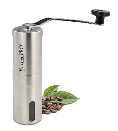 Buena opción como molinillo de café manual: HK291021 de KitchenPRO