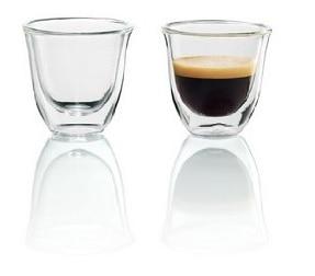 Delonghi 5513214591 - Juego de vasos para espresso (2 unidades)
