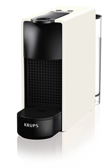 Krups Nespresso Essenza Mini - Cafetera, potencia 1450 W, color blanco