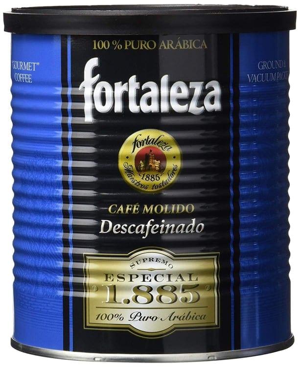 Café Fortaleza Café Molido Descafeinado Supremo - 250 gr - [Pack de 3]