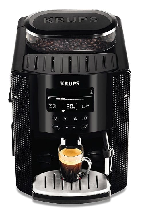 Las mejores cafeteras espresso automáticas de 2018: Krups EA815070