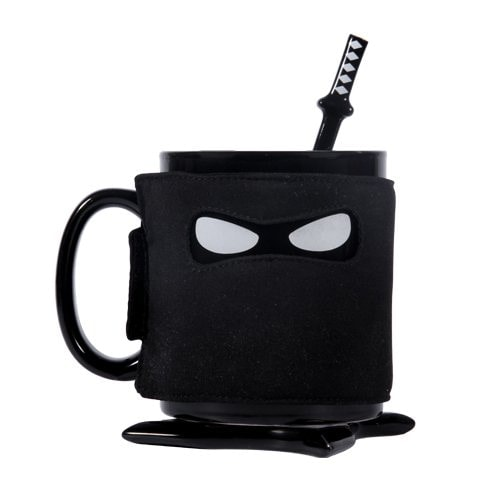 tazas de cafe originales: taza ninja
