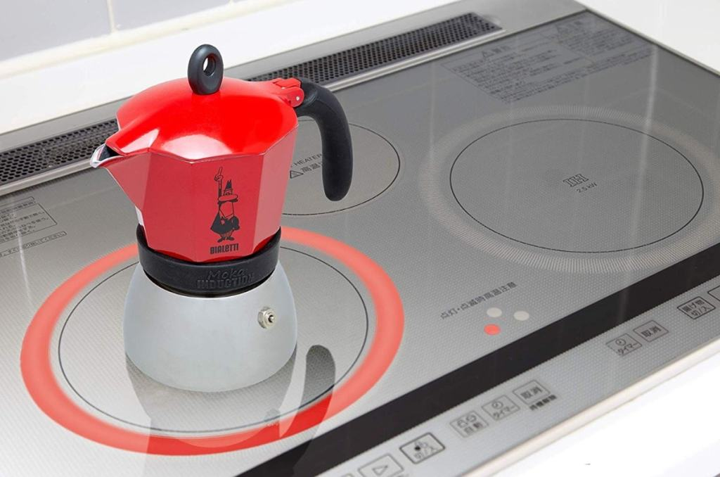 Bialetti Moka Induction (0004923) - Cafetera para 6 tazas de aluminio