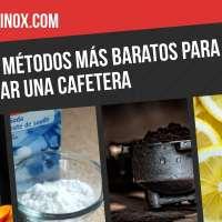 Los 4 métodos más baratos para limpiar una cafetera (Nespresso, Dolce Gusto, Espresso...)